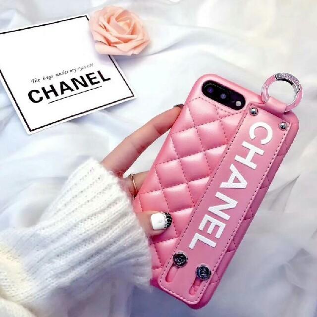 iphone7 ケース カバー | CHANEL - 人気新品 iPhone X ケース  ピンク 女性用の通販 by kiseono's shop|シャネルならラクマ