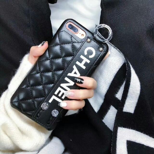 iphone 7 手帳 | CHANEL - 人気新品 iPhone X ケース  ブラック の通販 by kiseono's shop|シャネルならラクマ