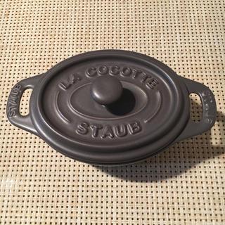 ストウブ(STAUB)のストウブ  セラミックココット  11センチ(調理道具/製菓道具)