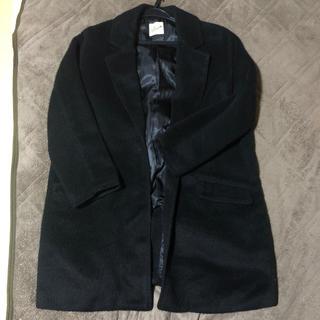 アベイル(Avail)のコート 黒 ブラック(ロングコート)