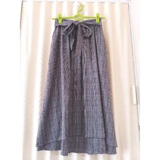 ウィゴー(WEGO)のWEGO グレンチェックロングスカート(ロングスカート)