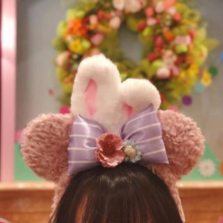 Disney - 上海 香港ディズニー カチューシャ イヤーハット シェリーメイ 兎 ダッフィー