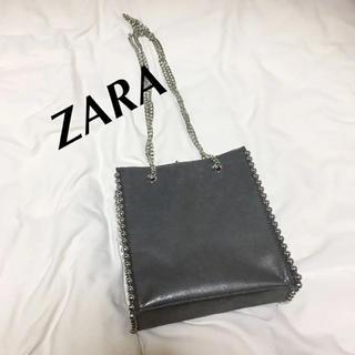 ZARA - ZARA スタッズチェーンショルダー