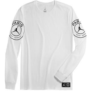 ナイキ(NIKE)のMサイズ JORDAN パリ・サンジェルマン PSG コラボ ロングTシャツ(Tシャツ/カットソー(七分/長袖))