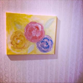 幸せ 優しい花 絵画 アート(絵画/タペストリー)