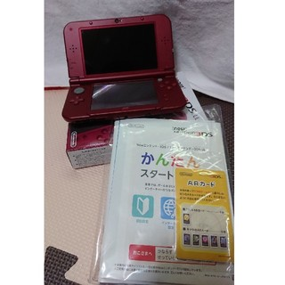 ニンテンドー3DS(ニンテンドー3DS)の【メーカー生産終了品】new ニンテンドー3DS LL メタリックレッド(携帯用ゲーム本体)