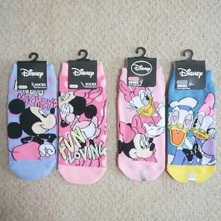 Disney - ☆Disney☆ ソックス4足set