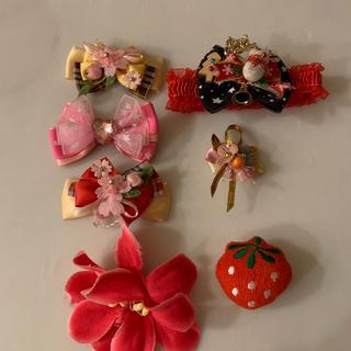 犬首輪用飾り(7点セット)(おもちゃ/ペット小物)