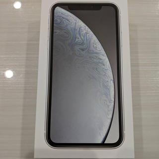 アップル(Apple)の限界値下げ!!SIMフリーiPhone XR 64GB WH(スマートフォン本体)