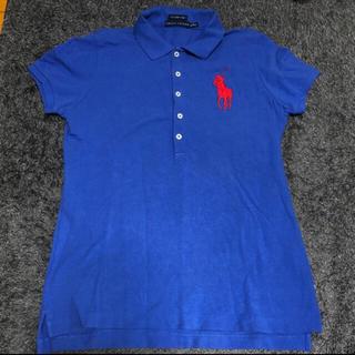 ポロラルフローレン(POLO RALPH LAUREN)のPOLOポロシャツブルー(ポロシャツ)