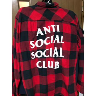 オフホワイト(OFF-WHITE)のANTI SOCIAL SOCIAL CLUB(シャツ)