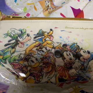 Disney - ディズニー 35周年 グランドフィナーレ スーベニアポーチ 新品未開封 完売品