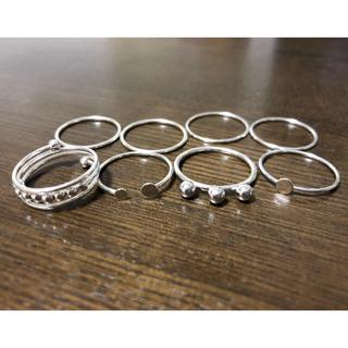 エイチアンドエム(H&M)のH&M 新作 リングセット(リング(指輪))