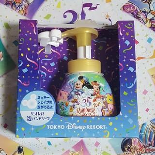 Disney - ミッキーシェイプのハンドソープ ディズニー35周年限定