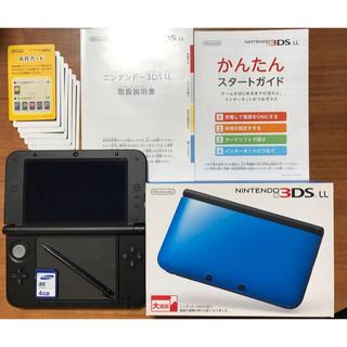 ニンテンドー3DS(ニンテンドー3DS)の【りこぽん様専用】NINTENDO 3DSLL本体《ブルー×ブラック》 (携帯用ゲーム本体)