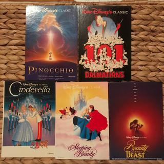 ディズニー(Disney)のDisney☆ポストカード5枚セット(写真/ポストカード)