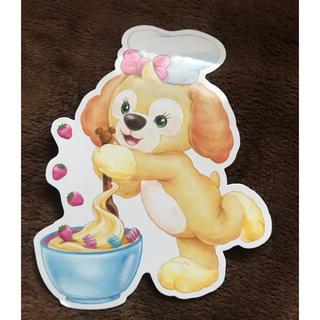 ディズニー(Disney)のクッキー ポストカード(写真/ポストカード)