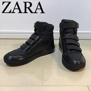 ZARA - ZARA☆美品☆ハイカットスニーカー