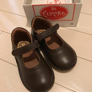 キャラメルベビー&チャイルド(Caramel baby&child )のeureka 革靴 サイズ20(フォーマルシューズ)