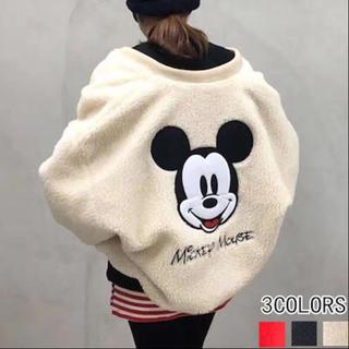 Disney - ミッキーボアブルゾンジャケット