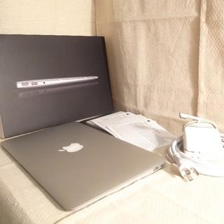Mac (Apple) - 美品 超速Core-i5高速SSD 超うすうすMacBookAir office