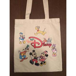 Disney - 値下げ チームディズニー トートバッグ
