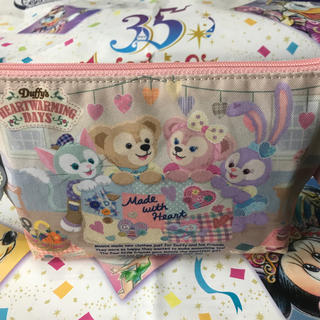 Disney - ディズニー シー ダッフィー ハートウォーミングデイズ ポーチ 付き クッキー