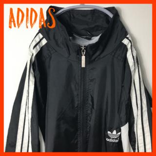 adidas - 90's OLD アディダス ナイロンジャケット 万国旗 vintege