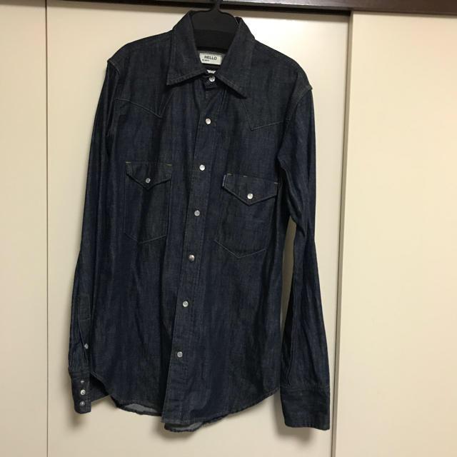 MADISONBLUE(マディソンブルー)のマディソンブルーデニムシャツ レディースのトップス(シャツ/ブラウス(長袖/七分))の商品写真