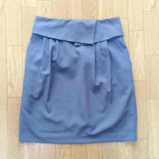 ページボーイ(PAGEBOY)のページボーイ ブルー スカート ペンシル ミニスカート(ミニスカート)