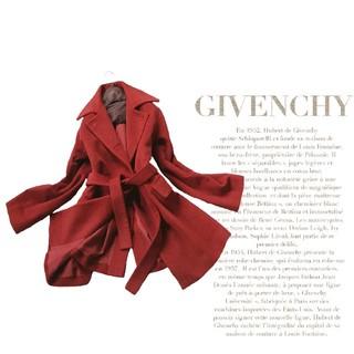 ジバンシィ(GIVENCHY)の超高級 美品 ジバンシィ 一級品 フワゆるおしゃれベルテッドコート 送料無料(チェスターコート)