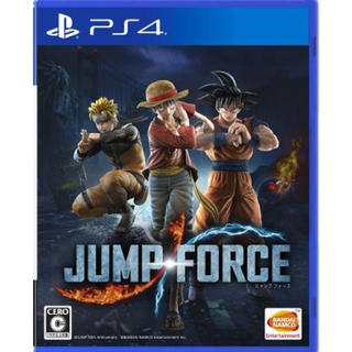 バンダイナムコエンターテインメント(BANDAI NAMCO Entertainment)のJUMP FORCE ジャンプフォース PS4 新品未使用(家庭用ゲームソフト)