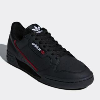 アディダス(adidas)のアディダスオリジナルス コンチネンタル ブラック 23.5センチ(スニーカー)