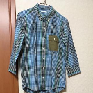 ジーユー(GU)のGUメンズシャツ Sサイズ チェック(シャツ)
