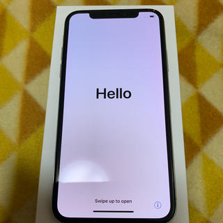 アイフォーン(iPhone)のiPhone X 美品 256GB  翌日発送 付属品あり 値下げ可能 在庫処分(スマートフォン本体)