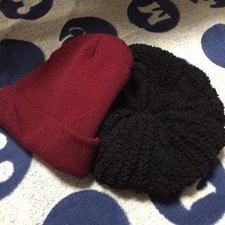 ニット帽とベレー帽(ハンチング/ベレー帽)