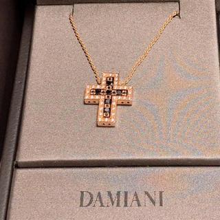 限定 ダミアーニ ベルエポック ピンクゴールドダイヤモンド ブラック ネックレス