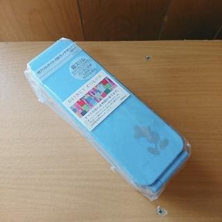 ディズニー(Disney)のミッキー超スリムタイト2段ランチボックス(弁当用品)