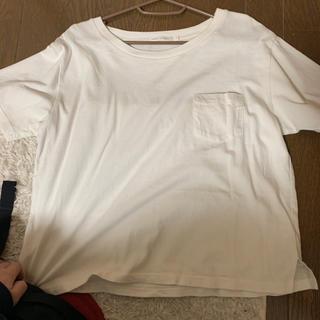 ウィゴー(WEGO)の白Tシャツ 半袖 ポケット付き(Tシャツ(半袖/袖なし))