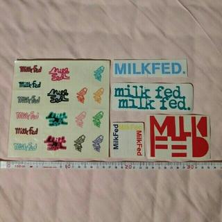 ミルクフェド(MILKFED.)の♡MILKFED.ミルクフェド.ステッカーセット♡(その他)