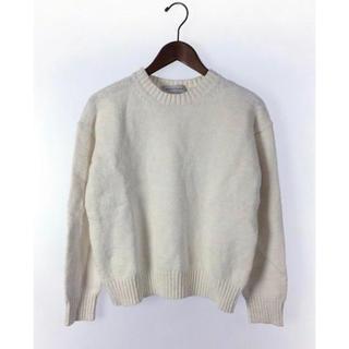 トゥモローランド(TOMORROWLAND)のセーター 厚手 コットン(ニット/セーター)