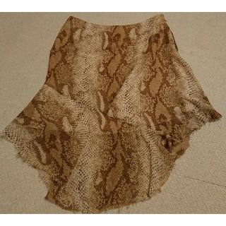 アーモワールカプリス(armoire caprice)のアニマル柄スカート(ひざ丈スカート)
