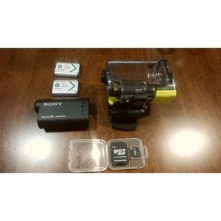 ソニー(SONY)の【値下げOK】SONY アクションカム AS15 光学1倍 HDR-AS15(コンパクトデジタルカメラ)