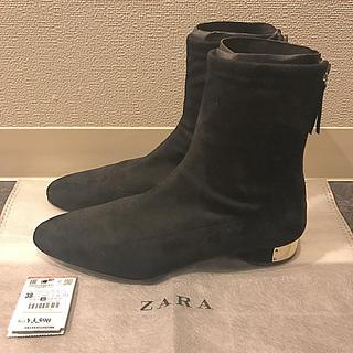 ザラ(ZARA)のザラ  アンクル ショート ブーツ(ブーツ)