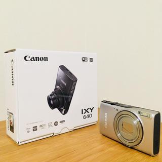 キヤノン(Canon)の【美品】Canon IXY 640 デジタルカメラ(コンパクトデジタルカメラ)
