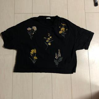ジーユー(GU)のGU 刺繍Tシャツ(Tシャツ(半袖/袖なし))
