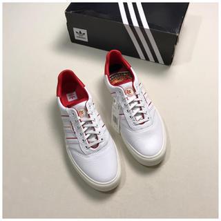 adidas - 新品 adidas 3MC × EVISEN US10 ホワイト 白 レザー