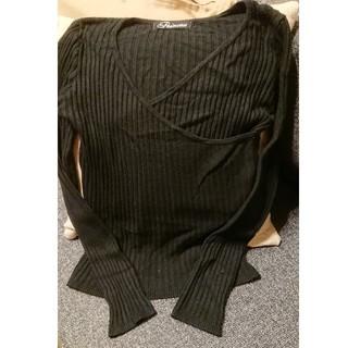 アーモワールカプリス(armoire caprice)の黒 トップス(カットソー(長袖/七分))