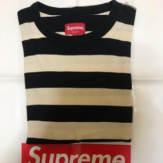 シュプリーム(Supreme)のsupreme ボーダーロンT M(Tシャツ/カットソー(七分/長袖))