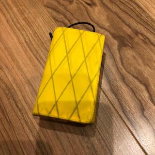 ミニマライト MINIMALIGHT 別注カラー イエロー 美品(折り財布)